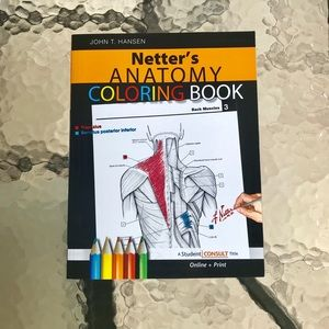 Anatomy coloring book Netter's
